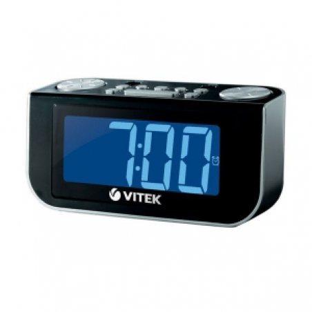 Радіо-годинник Vitek VT-6600BK - 3448