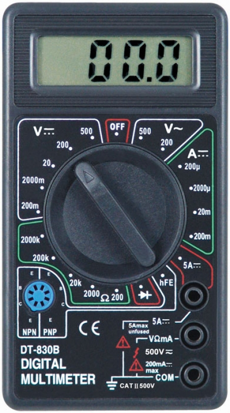Инструкция дт 830б дигитал мултиметер