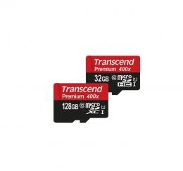 Карта пам'яті Transcend microSDHC 16Gb Class 10 UHS-I 400x Premium