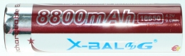 Акумулятор LI-ion X-BAL 18650