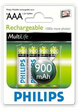Акумулятори Philips R03B4A90