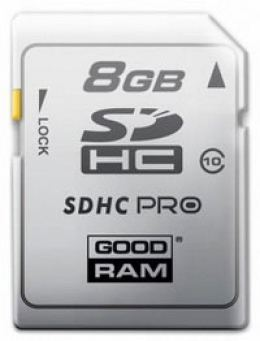 Карта пам'яті GOODRAM SDHC 8 GB Class 10
