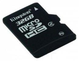 Карта пам'яті Kingston microSD 32 GB Class 4