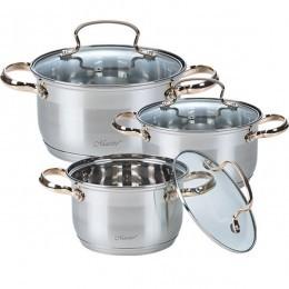 Набір посуду Maestro MR-3520-6M