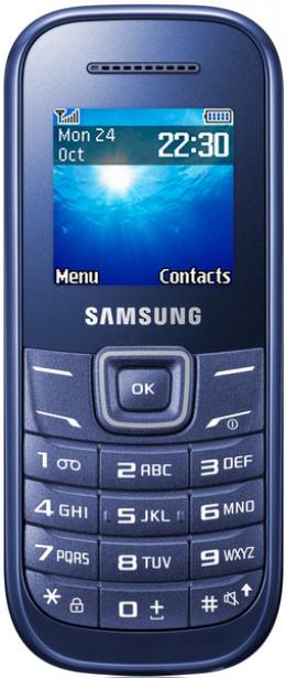 Мобильный телефон Samsung GT-E1200 IBI Indigo Blue