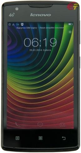 Смартфон Lenovo A2800D Black