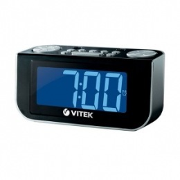 Радіо-годинник Vitek VT-6600BK