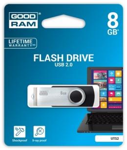 USB-флеш-накопичувач GOODRAM Flash drive Goodram TWISTER 8 GB