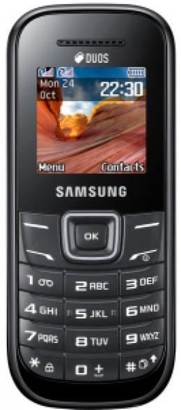 Мобильный телефон Samsung GT-E1202 Duos ZKI Black