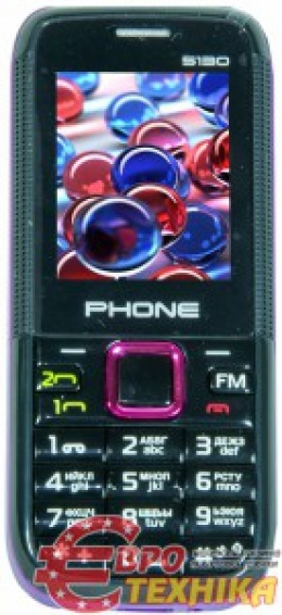 Мобильный телефон Phone 5130 Black and Purple