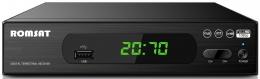 ТВ-ресивер DVB-T2 Romsat Т2070