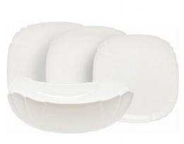 Столовий сервіз Luminarc Lotusia White H3902