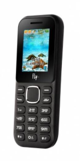 Мобильный телефон Fly DS-104 Black