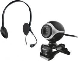 WEB камера Trust Exis Chatpack Black