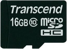 Карта пам'яті Transcend microSDHC 16Gb Class 10