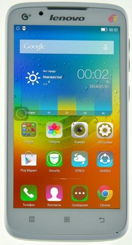 Смартфон Lenovo A388T White