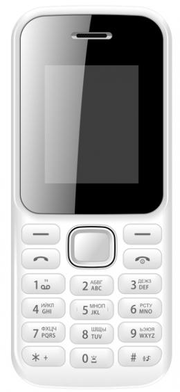 Мобільний телефон Bravis F180 RING Dual Sim White