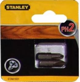 Біти Stanley PH2, 25ММ
