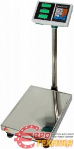 Весы торговые 100 кг табло на ножке