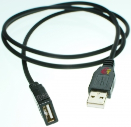 Кабель USB plug - USB socket