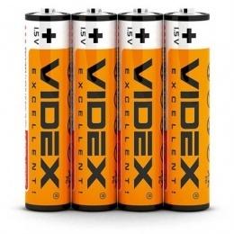 Батарейки Videx R03P/AAA 4 шт.