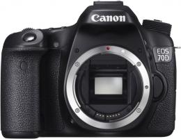Фотоапарат Canon EOS 70D Body W