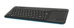 Клавіатура Trust Veza wireless touchpad UKR