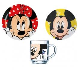 Набір дитячого посуду Luminarc Disney Oh Minnie H6446