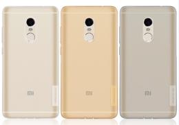 Накладка силіконова Nillkin для Xiaomi Redmi note4 Gray