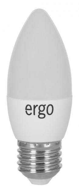 Світлодіодна лампа Ergo Standard C37 E27 4W 220V 3000K Теплий Білий