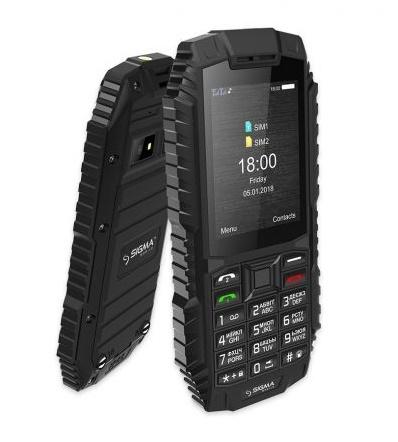 Мобільний телефон Sigma mobile X-treme DT68 Black - фото 5.