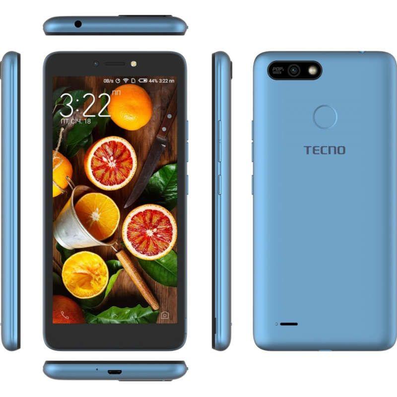 Смартфон Tecno POP 2 Power (B1P) 1/16GB DS City Blue - фото 3.