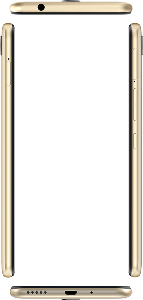 Смартфон Tecno Pouvoir 2 Pro 3/32GB (LA7 pro) DualSim Champagne Gold - фото 6.