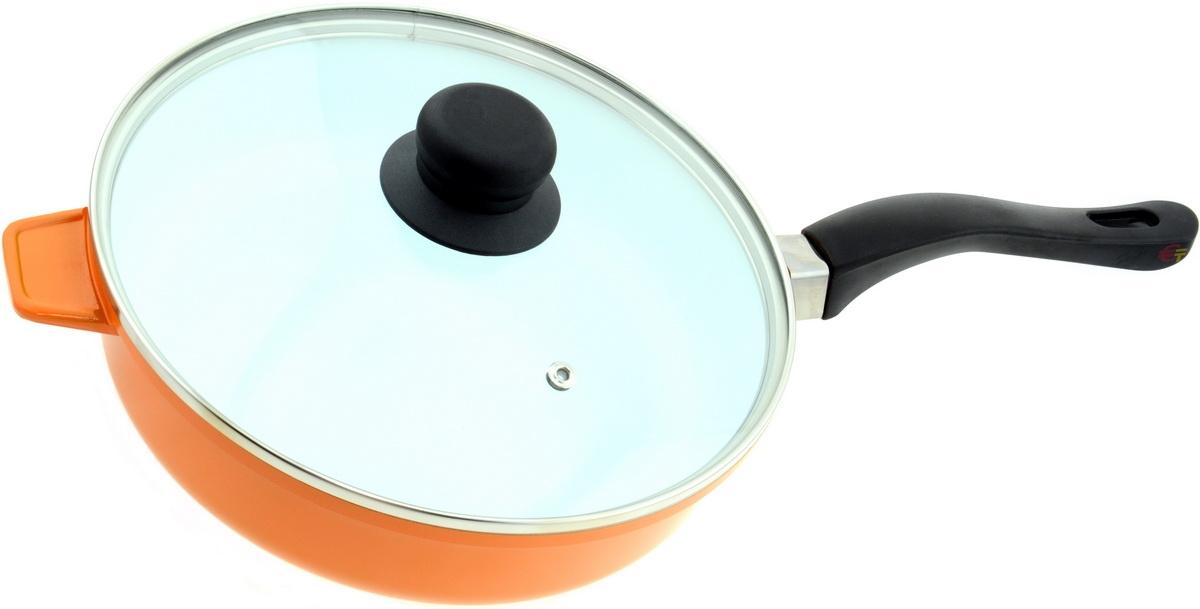 Сковорода Bohmann BH-6524WCR Orange - фото 3.