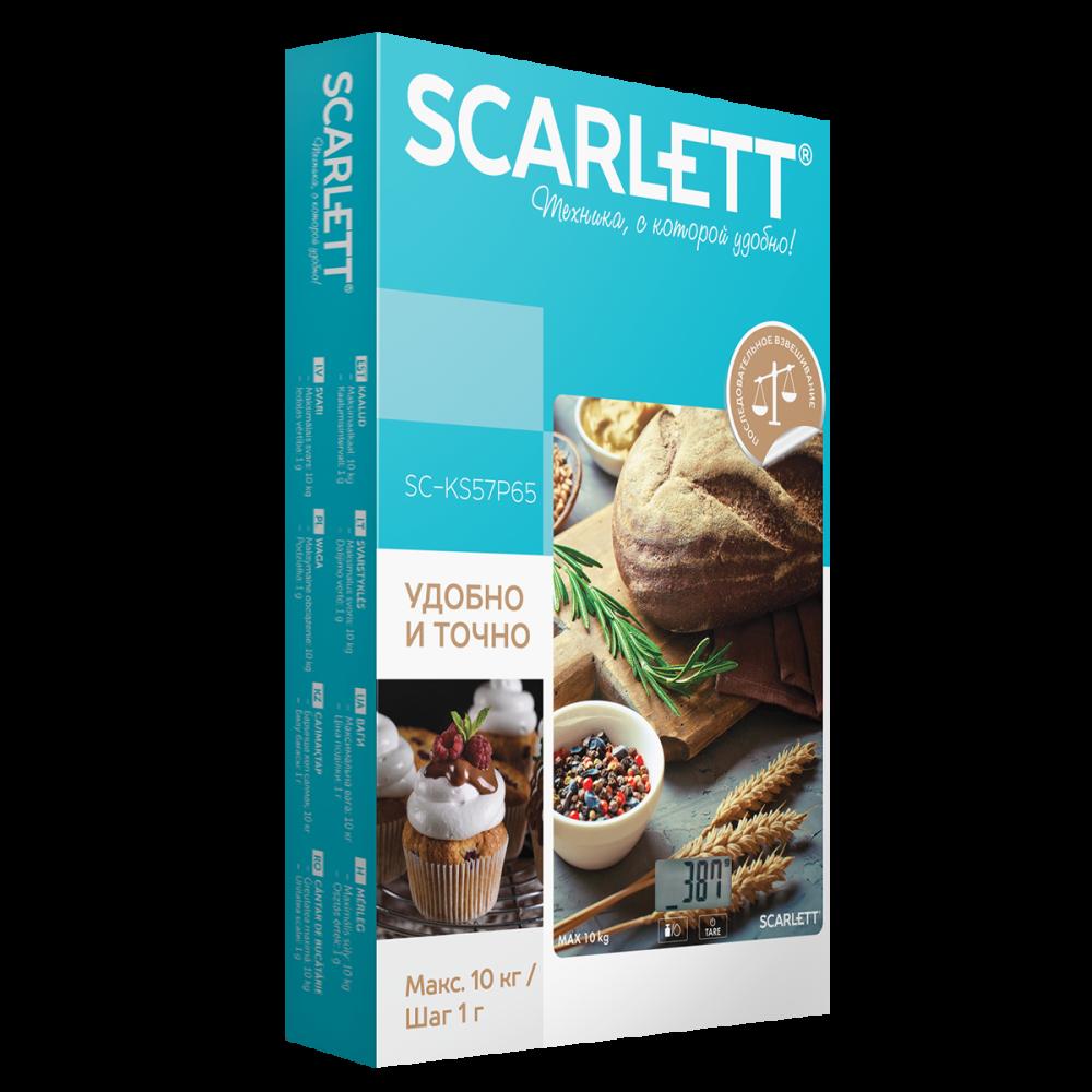Вага кухонна Scarlett SC-KS57P65 - фото 3.