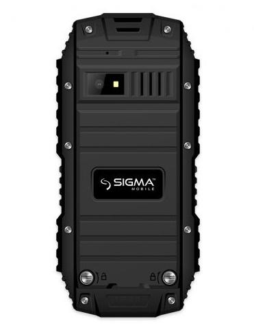 Мобільний телефон Sigma mobile X-treme DT68 Black - фото 3.