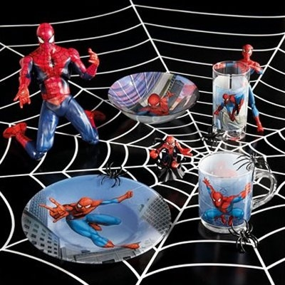 Набір дитячого посуду Luminarc Disney Spiderman Street Fights H4465  - фото 4.