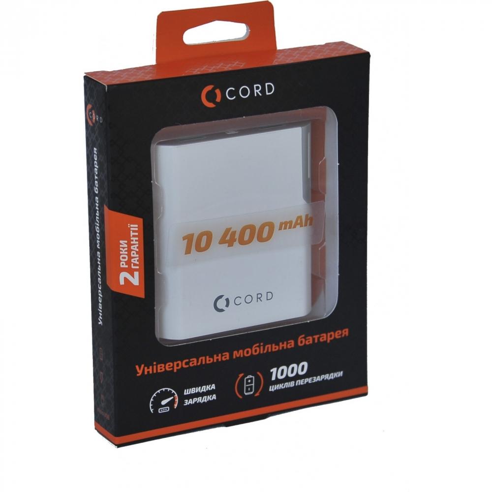 Зовнішній акумулятор Cord D-003 5200 mAh Orange - фото 4.