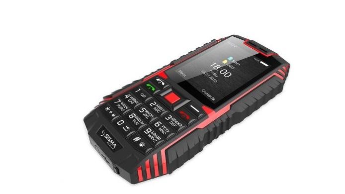 Мобільний телефон Sigma mobile X-treme DT68 Black-Red - фото 7.