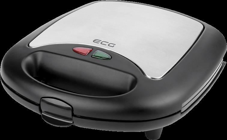 Бутербродниця ECG S 299 3в1 Black - фото 5.