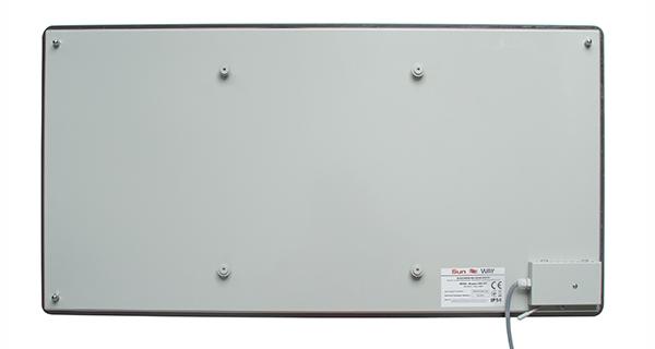 Обігрівач інфрачервоний скляний SunWay SWG 450 Білий - фото 3.