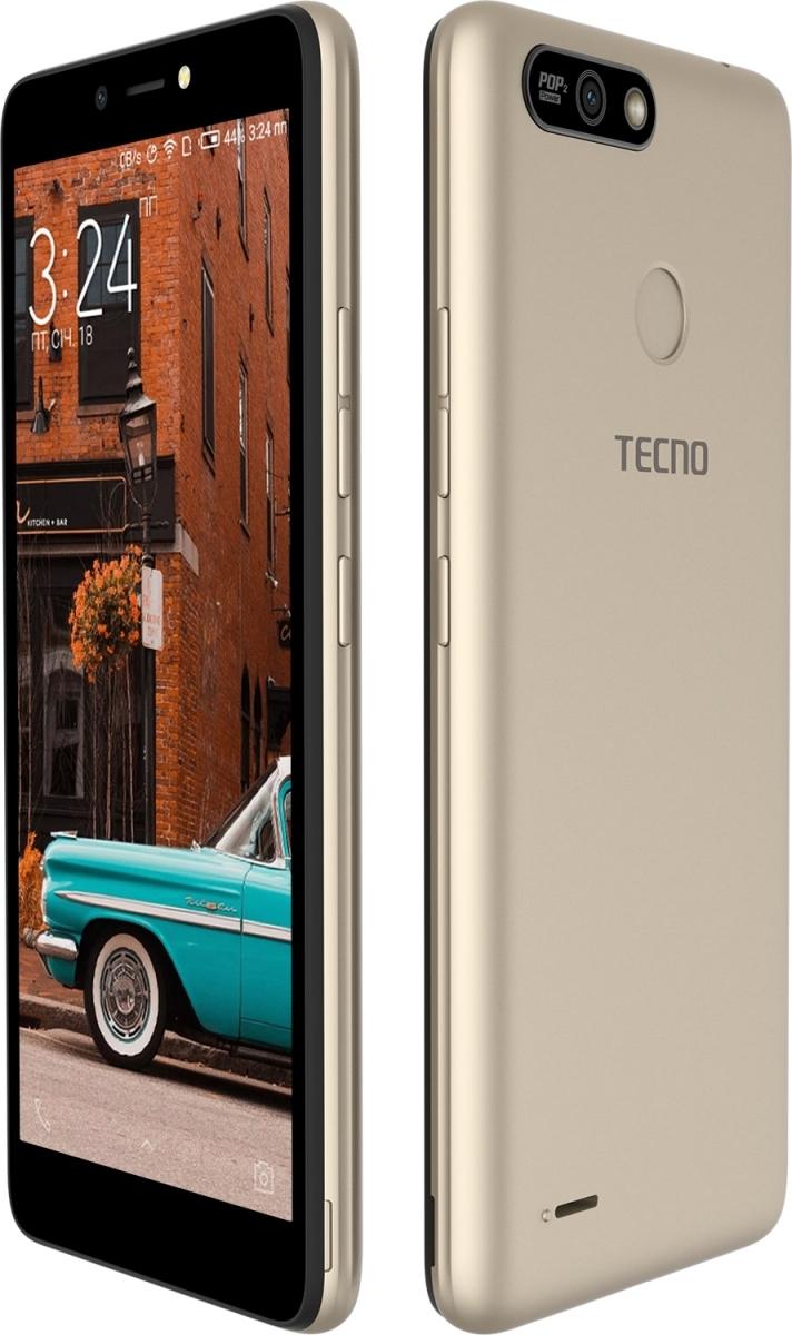 Смартфон Tecno POP 2 Power (B1P) 1/16GB DS Champagne Gold повербанк в подарунок - фото 3.