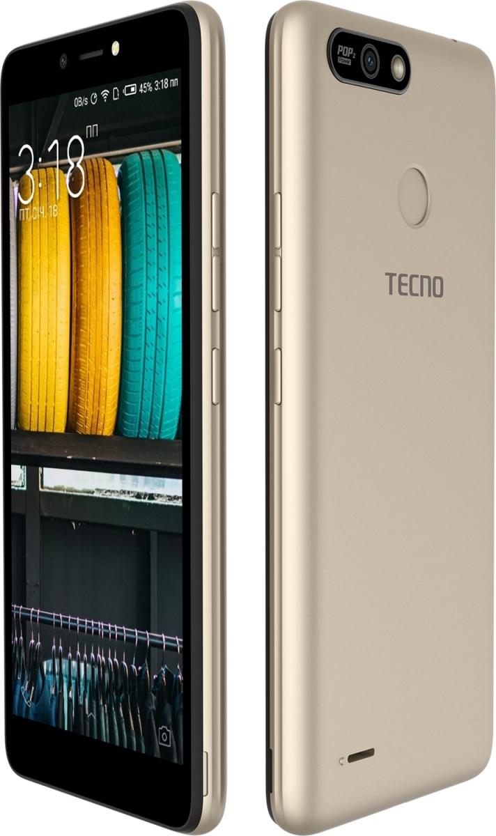 Смартфон Tecno POP 2 Power (B1P) 1/16GB DS Champagne Gold повербанк в подарунок - фото 4.