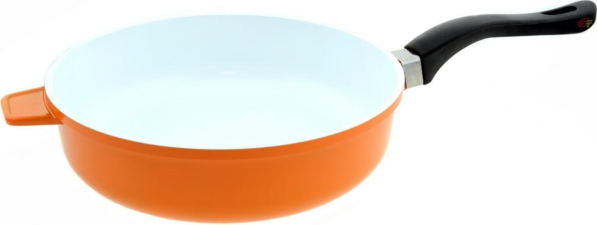 Сковорода Bohmann BH-6524WCR Orange - фото 5.