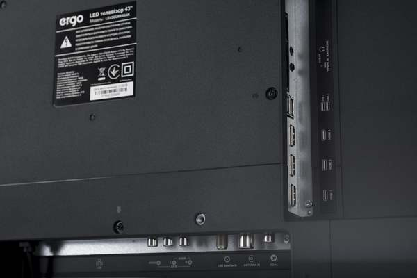 Smart телевізор Ergo LE43CU6530AK - фото 7.