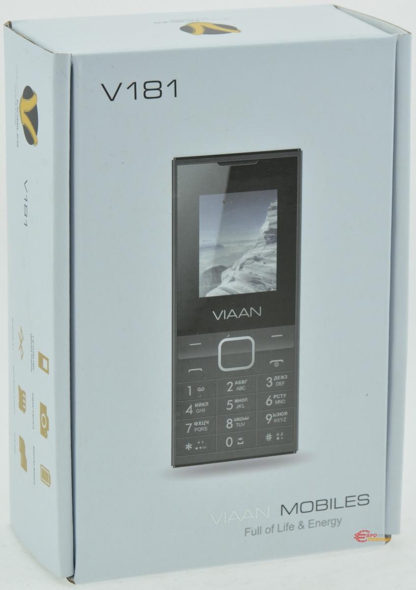 Мобільний телефон Viaan V181 Dual Sim Black - фото 10.