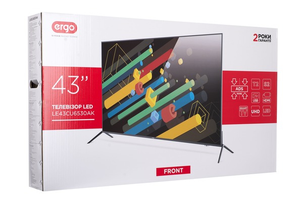 Smart телевізор Ergo LE43CU6530AK - фото 12.