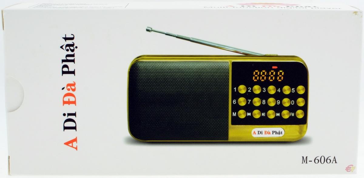 Радіо A Di Da Phat M-606A - фото 10.