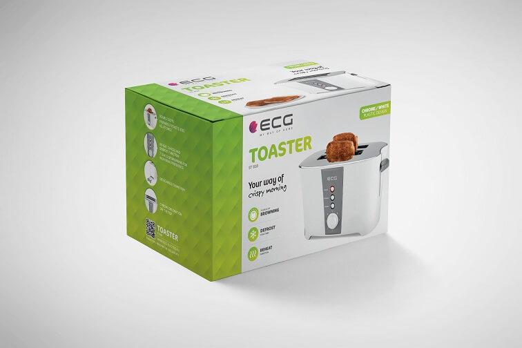 Тостер ECG ST 818 - фото 8.