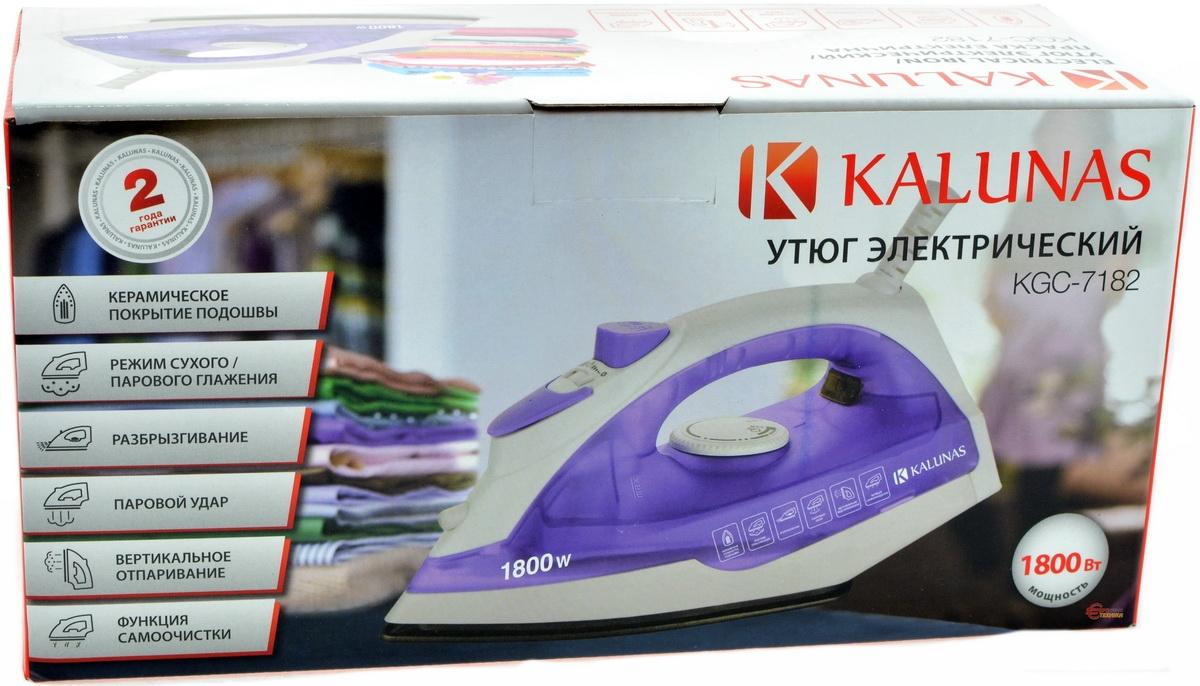 Утюг Kalunas KGC-7182 - фото 8.